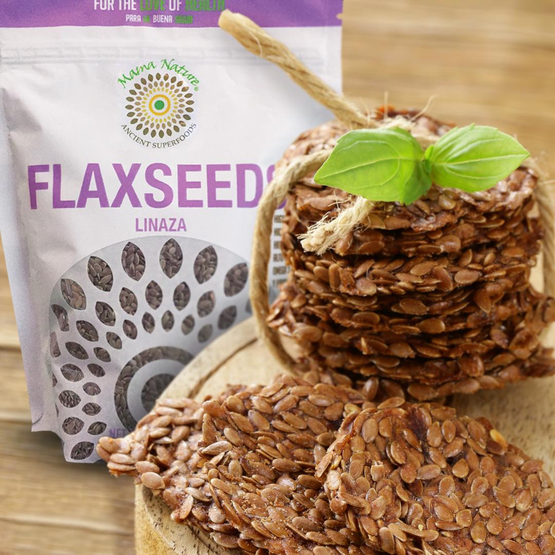 Mama Nature Superfood Flaxseed Brittle