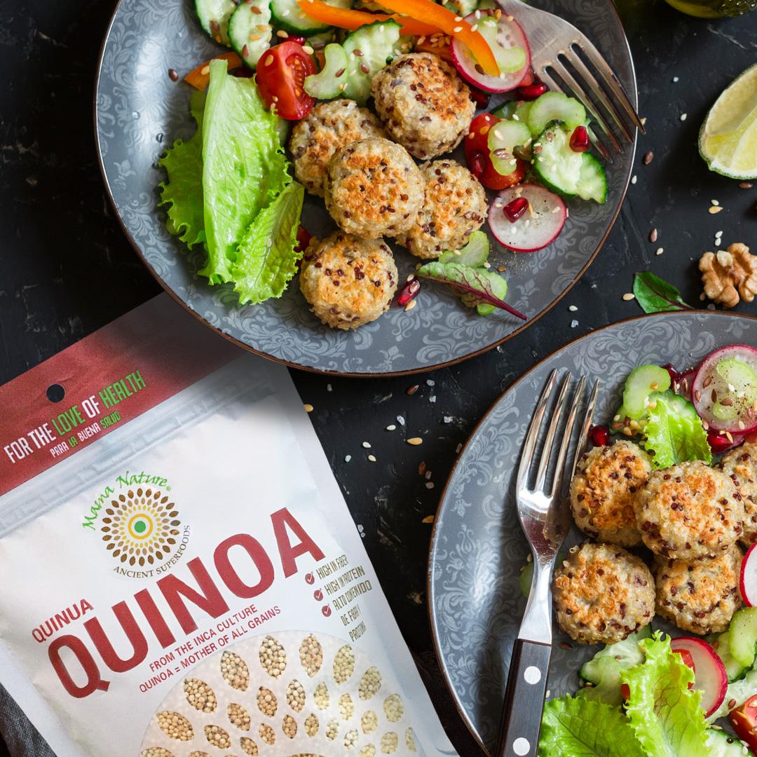 Quinoa Vegetarian Meatballs